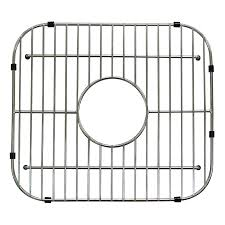 Stainless Steel Sink Grids Canada by Shop Style Selections 11 81 In X 13 19 In Sink Grid At Lowes Com