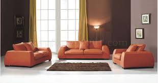 Modern Burnt Orange Living Room Sofa Burnt Orange Furniture