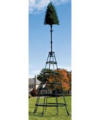 Flagpole Christmas Tree Topper by Olympia Tower Tree Collection