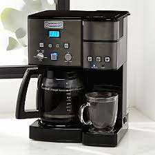 Cuisinart R Combi KCup Carafe Brewer Black Stainless