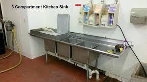 mesmerizing 3 basin kitchen sinks ningxu at compartment sink