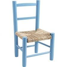 chaise enfant en bois chaise enfant paille bois bleu ciel la vannerie d aujourd hui