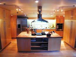 kitchen lighting track fixtures rectangular wood country metal