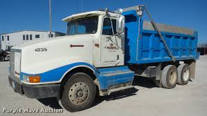 1993 International 9400 Dump Truck | Item J8677 | SOLD! Dece... Sinotruk 336hp Tri Axle 10 Wheel 1863m3 Loading Capacity Howo Dump Kenworth Trucks For Sale Durham Truck Equipment Sales Service Inventory For Sale In 1214 Yard Box Ledwell 2018 Peterbilt 348 Triaxle Truck Allison Automatic Reefer Variations Of The Deuce Deuce Site Used 2006 Peterbilt 379 Ex Hoods Triaxle Steel Dump For Sale 2016 1281 Bwise Dlp Series Heavyduty Trailer W Hydraulic 1984 Ford Ltl9000 Sn 1fdya92x4eva51716 Cat What You Need To Know When A Straight Truck Needs Pull Trailer