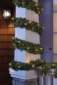 Philips 20ft Artificial Pine Christmas Garland Clear Lights Decorating Ideas