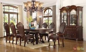 Image Is Loading Chateau Traditional 9 Piece Formal Dining Room Set