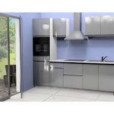 meuble cuisine cdiscount stunning meuble de cuisine gris pas cher contemporary design