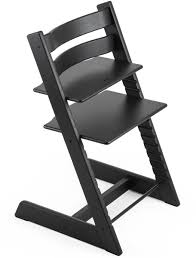 Stokke Tripp Trapp Oak High Chair - Black