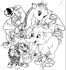 Jungle Coloring Pages Free Printable Of Animals In The