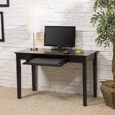 collection in black wood computer desk lovely office furniture