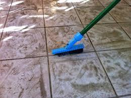clean tile floor grout soloapp me