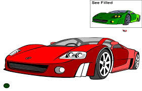 Exclusive Cars Coloring Book Game