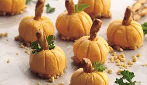 Pumpkin Throwing Up Guacamole With Cheese Dip by 18 Savory Party Foods For Fall U2013 A Subtle Revelry