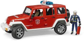 100 Bruder Trucks Youtube Jeep Fire Car With Fireman Magic Beans