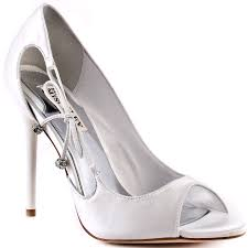 wanda white satin badgley mischka 214 99 free shipping