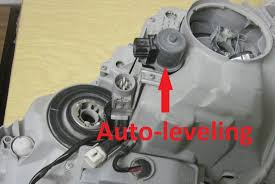 how to replace bad lexus auto leveling motor for ls430 rx330