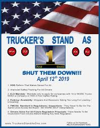 100 Trucking Strike Thousands Of Truckers Planning Nationwide Shutdown In 2019