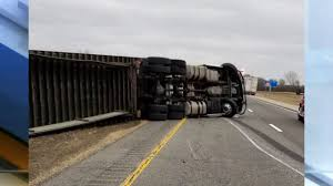 100 Semi Truck Pictures High Winds Flip Semitruck On Interstate69 In Delaware County