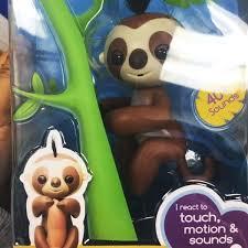 Fingerlings Sloth Walmart Baby Fingerling Authentic In Hand Look Upc