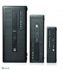 pc hp 800 g1 tour ou sff ordinateurs de bureau merkandi fr