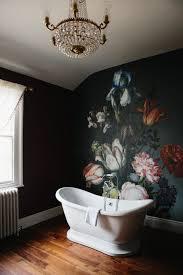 lovely blossom wall mural bathroom design allstateloghomes