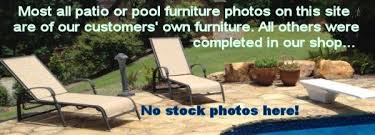 Diy Replace Patio Chair Sling by Patio Furniture Sling And Vinyl Replacements Pool And Outdoor