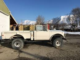Vintage Military 1967 Kaiser Jeep 1 1/4 Ton M715 Truck For Sale