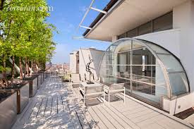 100 Duplex For Sale Nyc Behold The City Skyline From A Room Of Curved Glass Atop This 125M