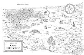 Maps From The Percy Jackson Coloring Book Based On Hugely Popular Series By Rick Riordan