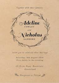 Rustic Wedding Invitations Invites Cards