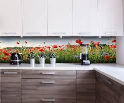 küchenrückwand blumenwiese nischenrückwand spritzschutz fliesenspiegel ersatz deko küche m0493