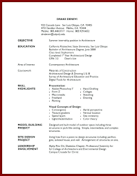 Student Job Resume Examples Awesome Collection Of Format For First Wonderful