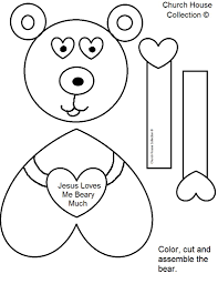 Jesus Loves Me Printable Coloring Pages