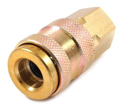 Forney 75260 ARO Style Air Fitting Coupler with 1/4-Inch-By-1/4-Inch Female NPT