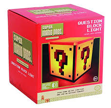 paladone super mario question block night light amazon in home