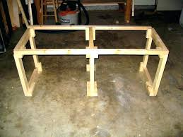 Homemade Tv Stand How Build Doors To A Out Of Pallets With Shelves Wood
