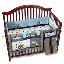 nojo ahoy mate 6 piece crib bedding set buybuy baby