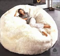Huge Bean Bag Bed Fashiondivaly