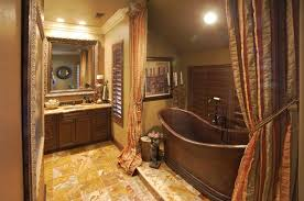 Rustic Bathtub Tile Surround by 15 Copper Bathtubs U2013 Create A Warm Glow Focal Point In The Bathroom