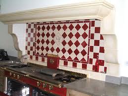 carrelage cuisine mural faïence et carrelage mural de cuisine carreaux artisanaux pour