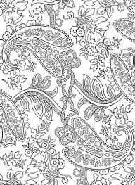 Paisley Designs Coloring Book Dover Design Books