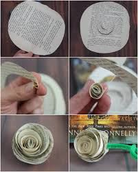 Instructions Make Paper Roses Step By