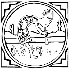 Native American Symbol Coloring Pages