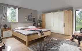 schlafzimmer 4006 in bianco eiche nachbildung chagner