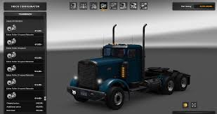 Peterbilt 351 - Mod For European Truck Simulator - Other