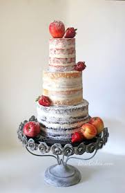 Rustic Naked Cake With Fresh Fruit