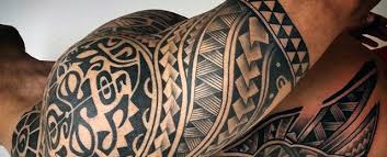 Half Sleeve Tribal Tattoos For Men