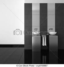 badezimmerboden modern schwarz badezimmer doppelgänger