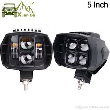 100 Led Work Lights For Trucks XuanBa 5 Inch 35W Cree Offroad Light High Low Beam 12V 4x4