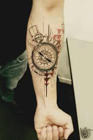 Small Compass Tattoos Ideas For Men